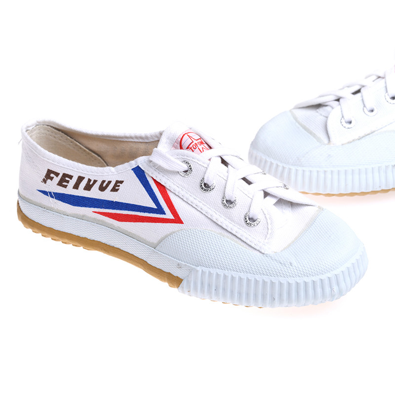 Top One Feiyue Wushu Training Shoes : WHITE - Click Image to Close